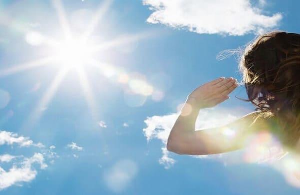 Tiếp xúc với ánh mặt trời trong thời gian dài