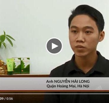 Video chia sẻ của Hải Long về quá trình bị bệnh vảy nến của mình