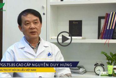 PGS.TS.BS cao cấp Nguyễn Duy Hưng chia sẻ về các bệnh thường gặp ở da