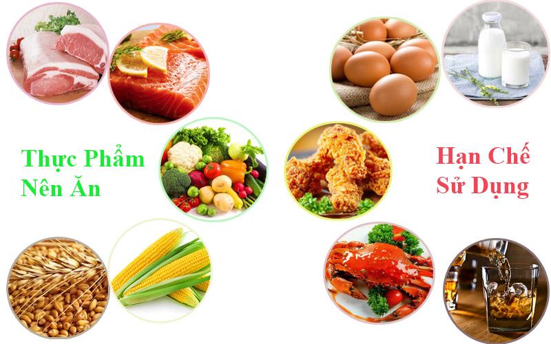 Chế độ ăn uống là vô cùng quan trọng với những người mắc bệnh viêm da cơ địa