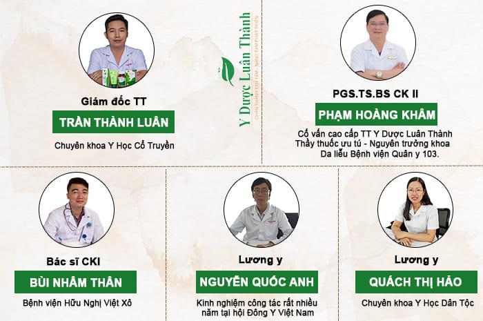 Đội ngũ chuyên gia và cố vấn cao cấp của TT Y Dược Luân Thành
