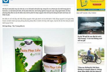 Báo Khỏe & Đẹp – Trợ thủ đắc lực của bệnh mề đay