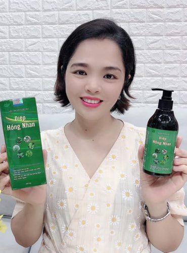 Video review dầu tắm gội Diệp Hồng Nhan của chị Phạm Thanh Dung