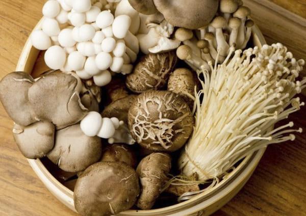 Nấm là một loại thực phẩm rất tốt cho người bệnh viêm da tiết bã
