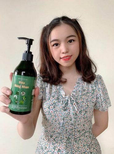 Chia sẻ của em Thanh Trần đến từ Hồ Chí Minh về dầu tắm gội Diệp Hồng Nhan