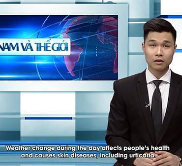 Bản tin đưa tin về viên uống Thiên Phục Liễu hỗ trợ điều trị Mề Đay