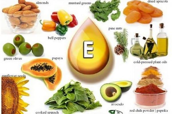 Bổ sung nhiều Vitamin E cho cơ thể