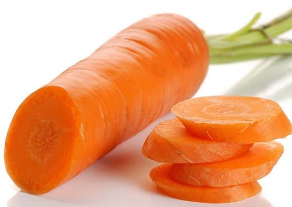 Cà rốt chứa nhiều Vitamin tốt cho da