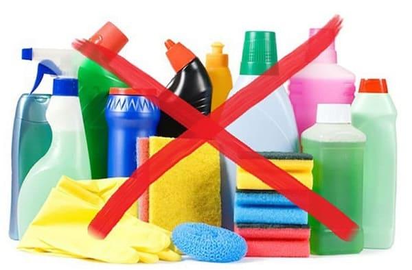 Hạn chế sử dụng chất tẩy rửa