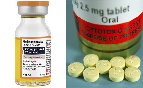 Điều trị vảy nến bằng thuốc Methotrexate