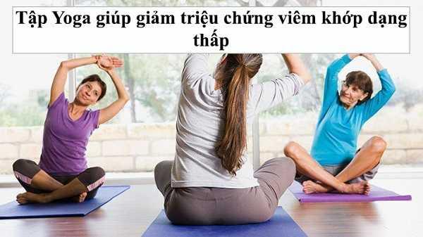 Tập luyện giúp giảm triệu chứng viêm khớp dạng thấp