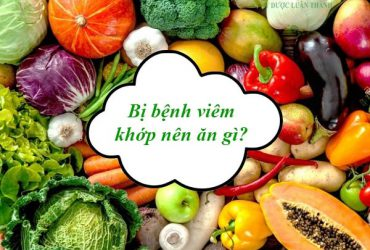 Người bị bệnh viêm khớp nên ăn gì?