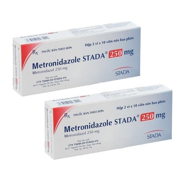 Thuốc Metronidazol Stada